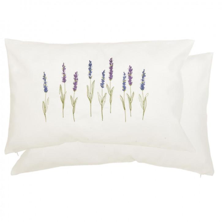 Kissenhülle Lavendel ca. 30 x 50 cm
