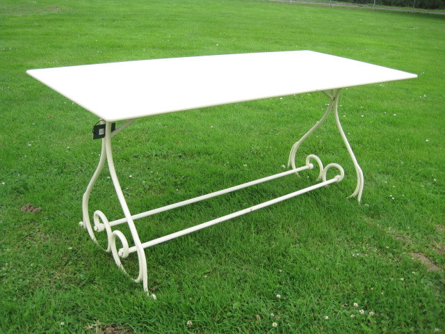 "Table Periqieux ""Blanc"" rectangular"