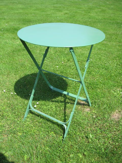 "Table Bordeaux ""Verde"" round"