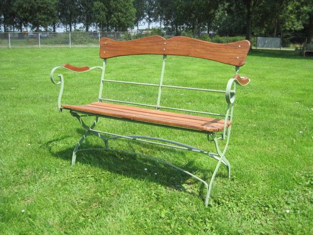 Folding garden bench Holzbank Avignon