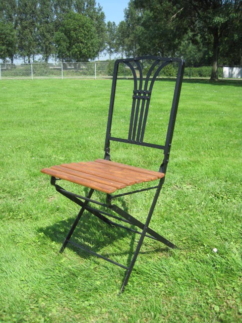 Folding garden chair Perpigan