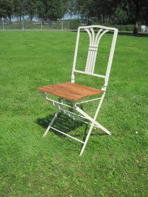Folding garden chair Bayeux