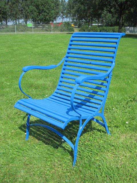 Lazy chair Martagny blau