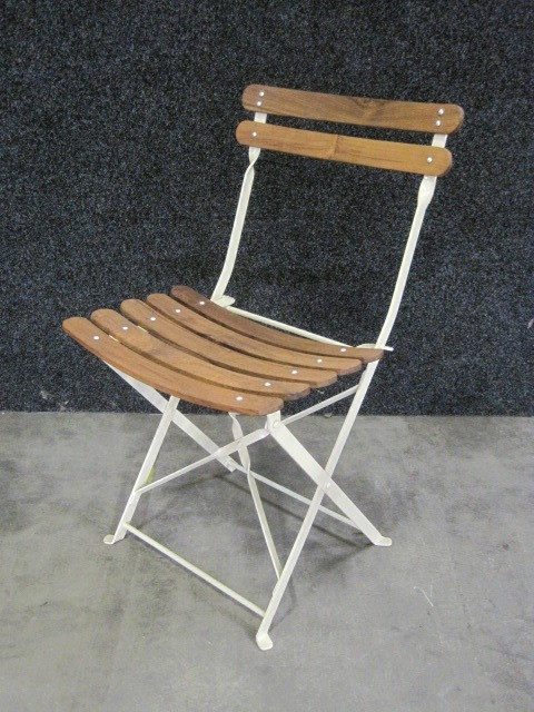 Folding garden chair Simorre