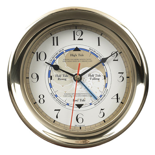 Uhr - Captains Time & Tide Clock