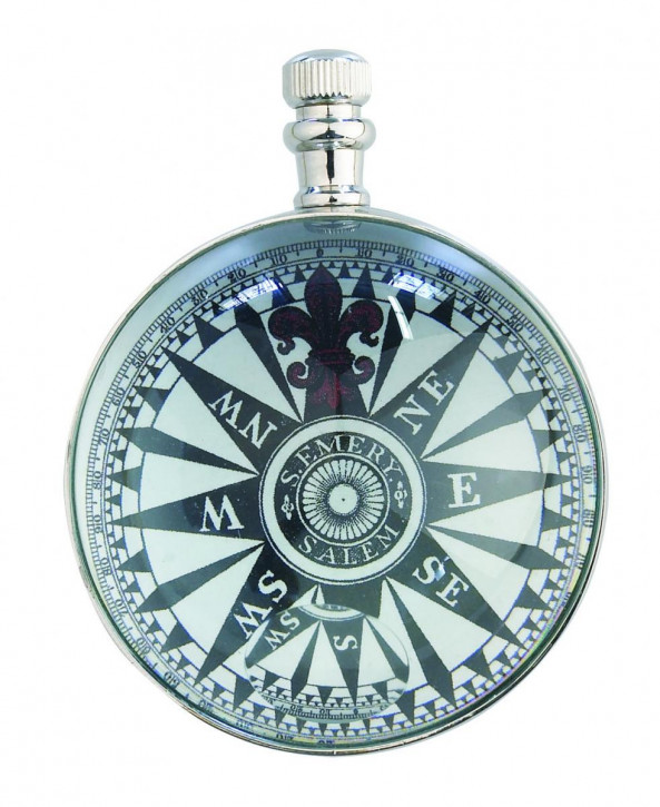 Uhr - The Eye of time Clock, Nickel
