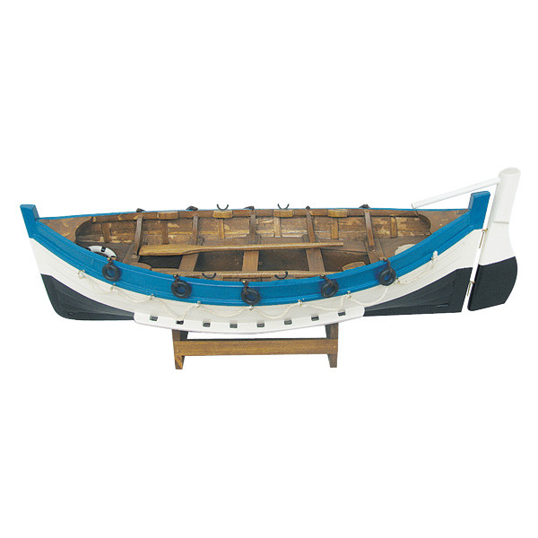 Börde-Boot, Holz, L: 43cm, H: 15cm