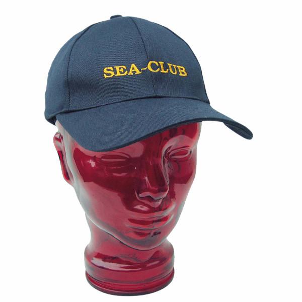 Cap - SEA-CLUB, Baumwolle, bestickt