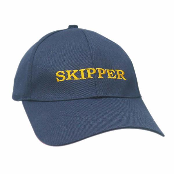Cap - SKIPPER, Baumwolle, bestickt