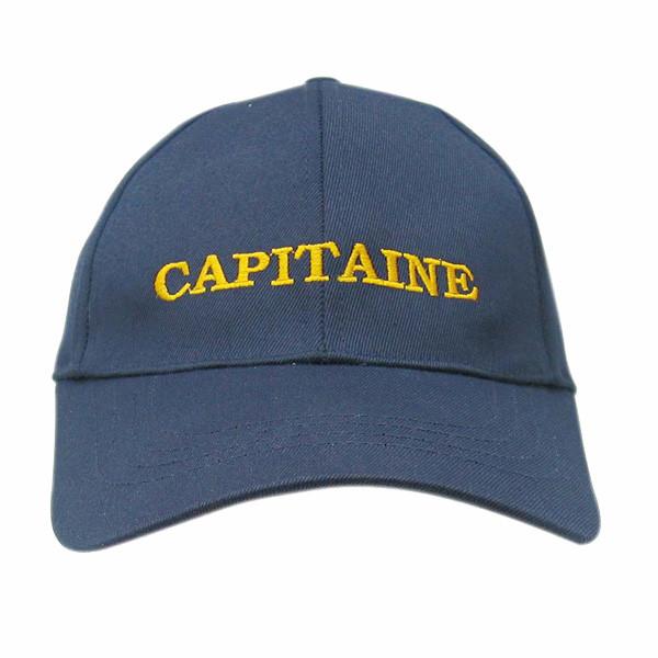 Cap - CAPITAINE, Baumwolle, bestickt