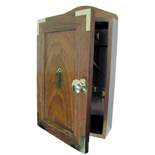 Schlüsselkasten, Holz, 16,5x28,5x7cm