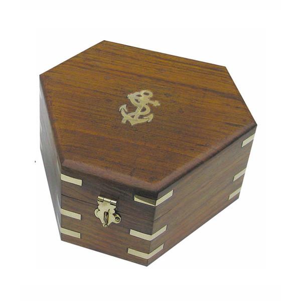 Holzbox für Sextant 8200S, 17,5x15,5x8,5cm