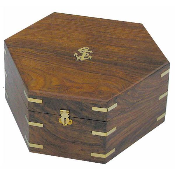 Holzbox für Sextant 8201N oder 8201S, 25x22x11cm