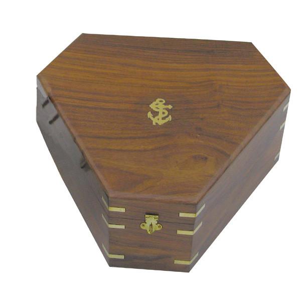 Holzbox für Sextant 8202S, 29,5x26x13cm