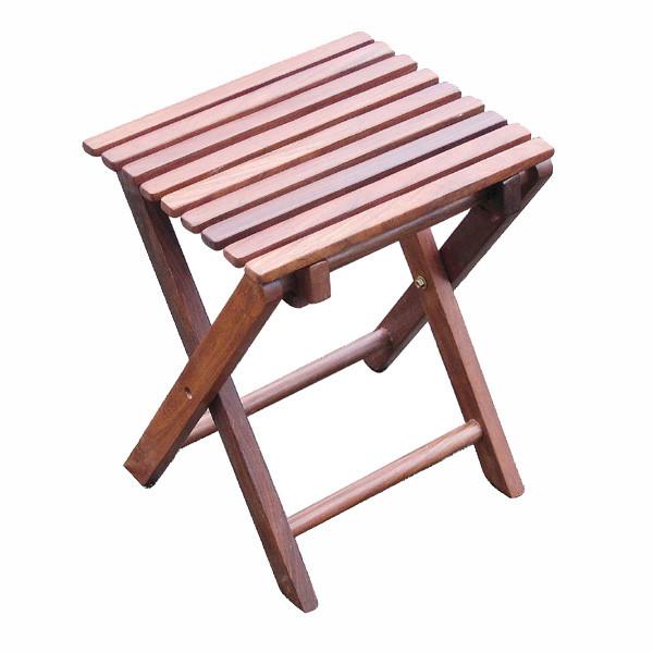 Klapphocker, Holz, 30x26,5x37cm