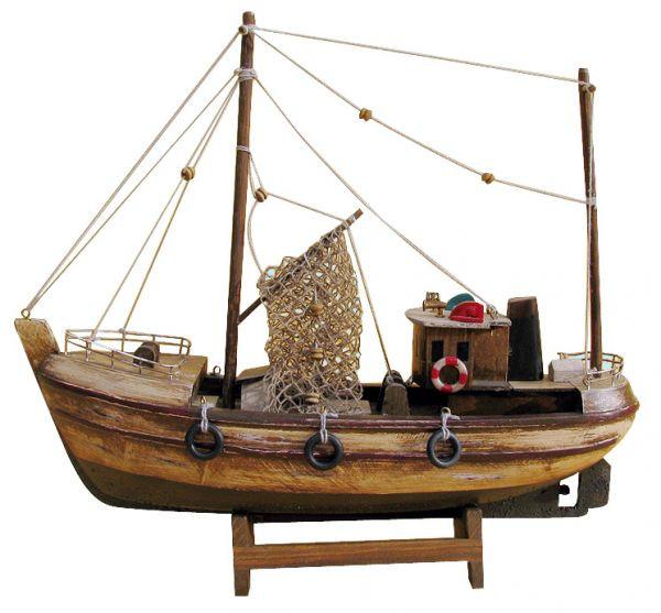 Kutter, Holz, L: 30cm, H: 27,5cm - Modell komplett auf alt gemacht