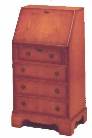 cupboard bureau massivholz schrank