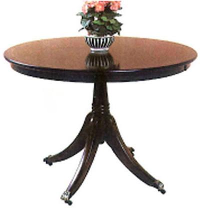 Circular breakfest table auch in Eibe   Tisch Rund