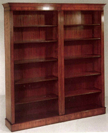 """""""Bookcase"""" in Mahagoni oder Eibe erhältlich"""