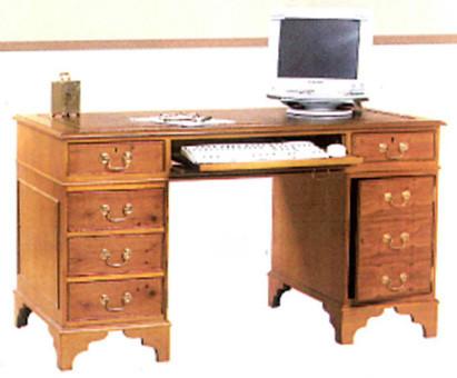 Computer desk  .auch  in Mahagoni