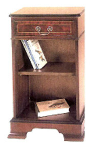 One drawer open bookcase auch in Eibe
