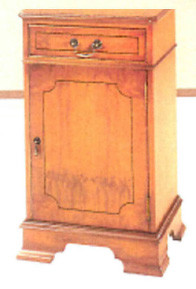 """One Drawer With Door Bookcase"" - auch in Mahagoni erhältlich"