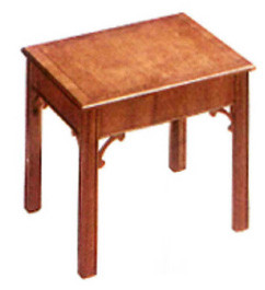Chippendale end table   auch  in Mahagoni