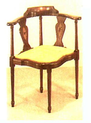 Corner Chair Dekostuhl Eckstuhl