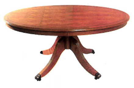 4ft oval coffee table with rim