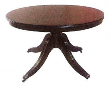 3ft oval coffee table with rim