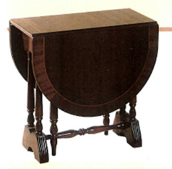 Mini gateleg table