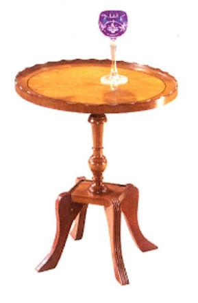 """""""Pie Crust Write Table"""" - auch in Mahagoni erhältlich"""