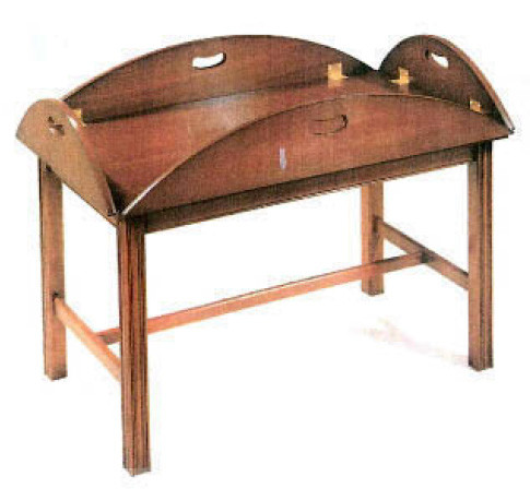 Butlers table, mahogony or yew