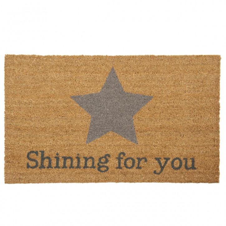 "Türmatte ""Star shining for you"" 75x45 cm"