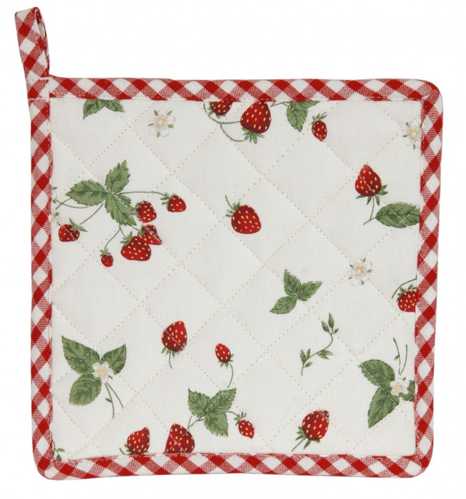 Topflappen Erdbeere Strawberry Garden