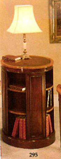 """""""Tall Revolving Bookcase"""" aus bestem Mahagoni - auch in Eibe erhältlich"""
