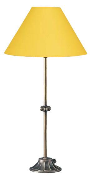 Schöne Tischleuchte gelb