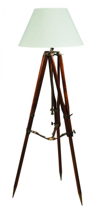 Stehlampe - Campaign Tripod Lamp, schwarz