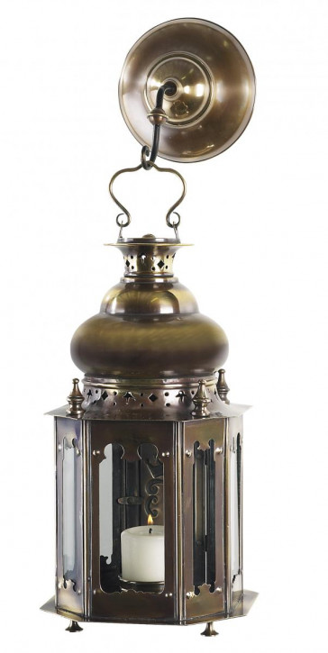 Laterne mit Aufhängung Venetian Lantern, Bronze