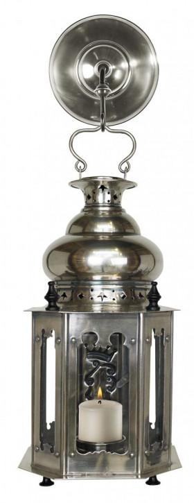Laterne mit Aufhängung Venetian Lantern, Antique Silver