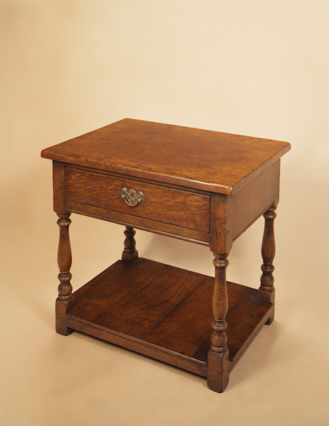 """Joined Lamp Table With Drawer"" - Beistelltisch"