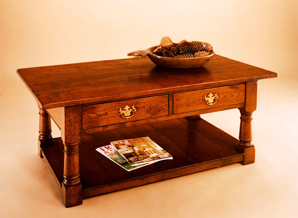 Joined Coffee Table P/B With Drawers