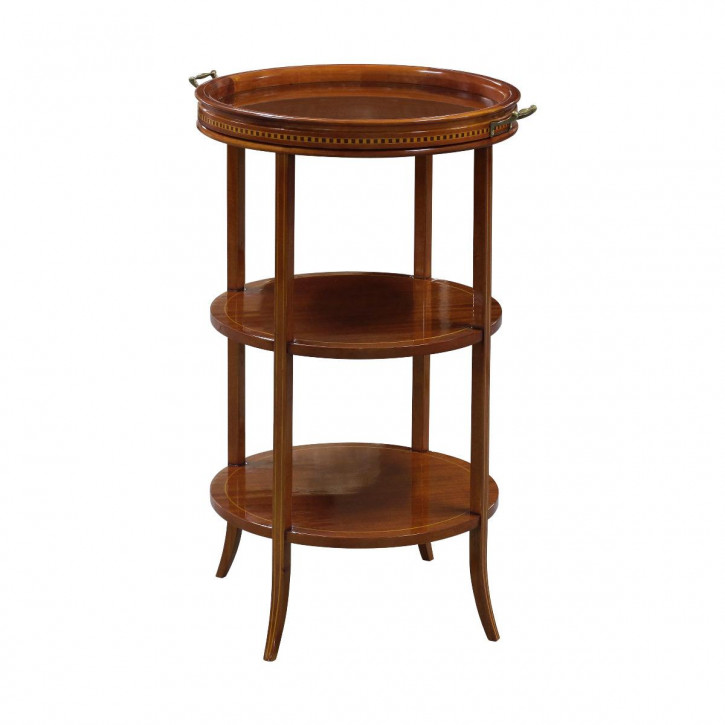 """""""Two Tier Glass Topped Table"""" - Kleiner Tisch"""