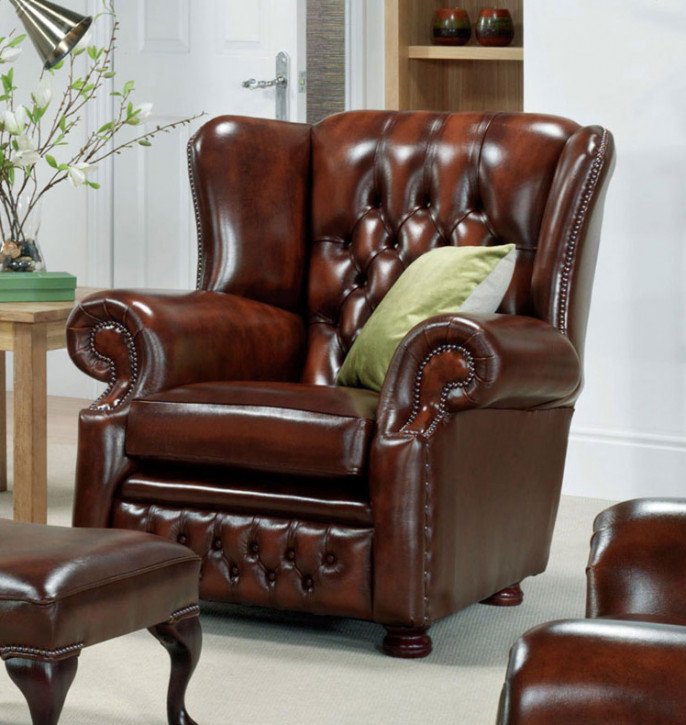 """Abigail Chair"" Chesterfield Sessel"