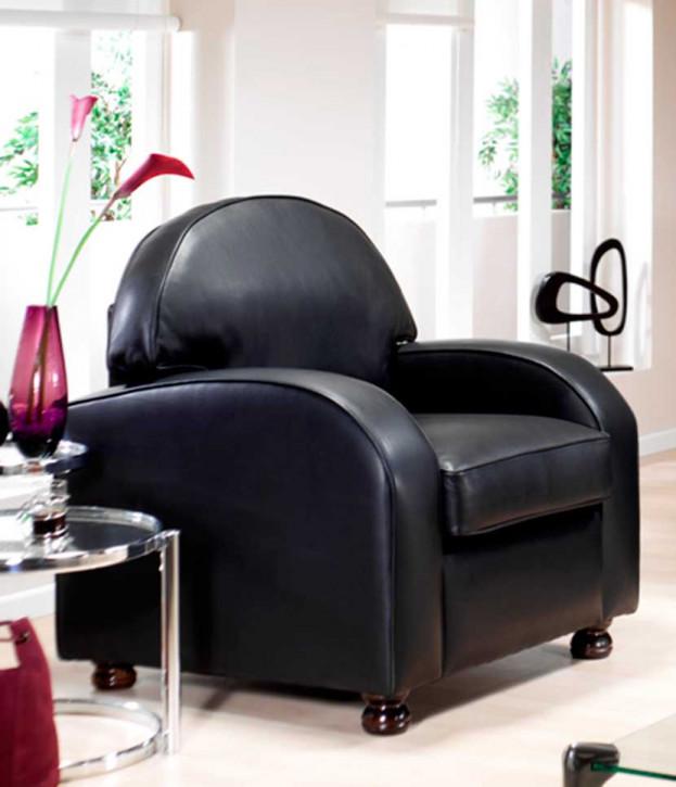 """Scarlett Chair"" Chesterfield Sessel in Fabric"