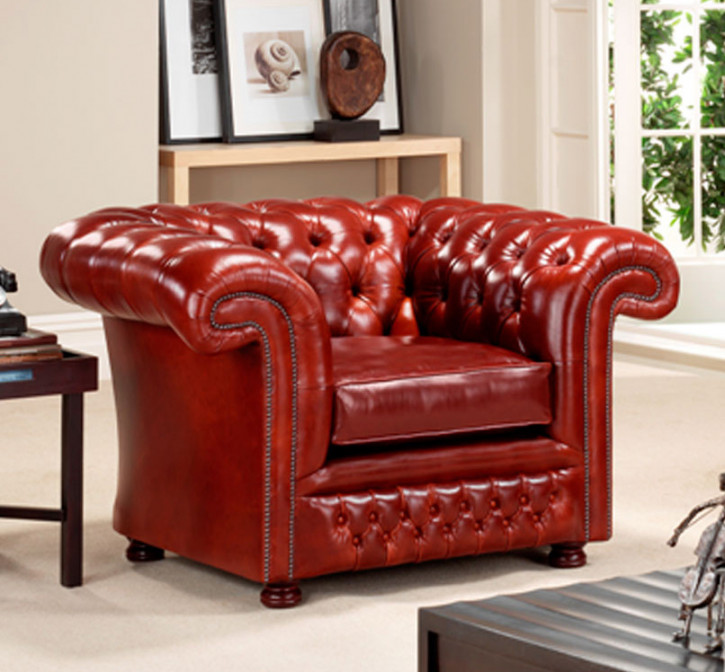"""""""Dexter Chair"""" Chesterfield Sessel"""