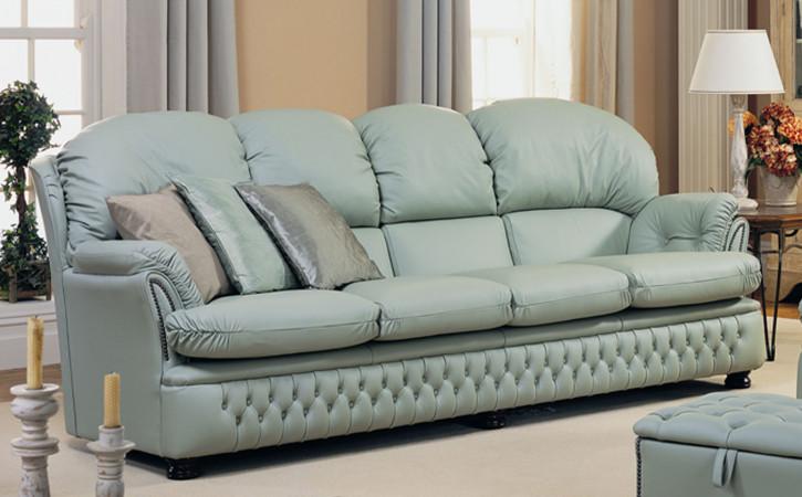 """""""Ellie"""" original Sofa 4-Sitzer englisches Sofa in Fabric"""