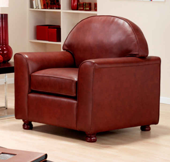 """""""Jacob Chair"""" Chesterfield Sessel in Fabric"""