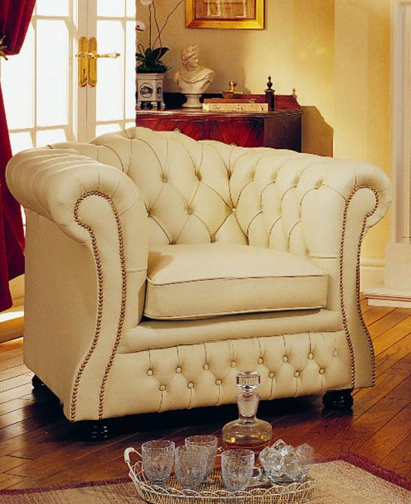 """Jaxon Chair"" Chesterfield Sessel"