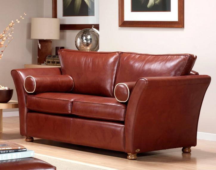 """Kinsley"" Chesterfield Sofa original 2-Sitzer Stoffsofa"